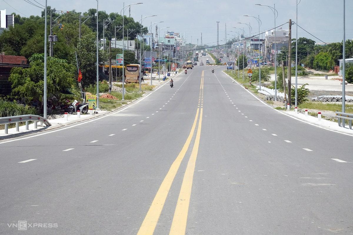 Đường 319 kết nối đường Trần Phú