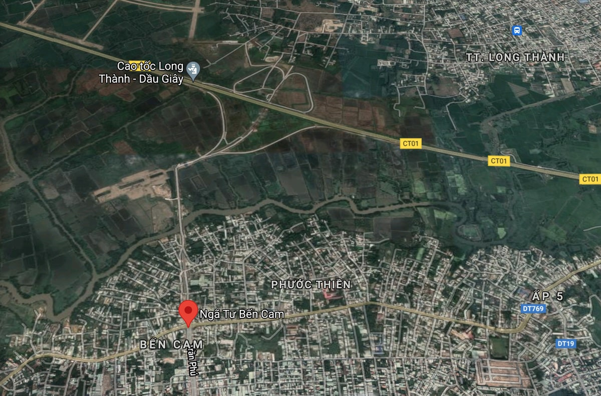 Google Map đường 319