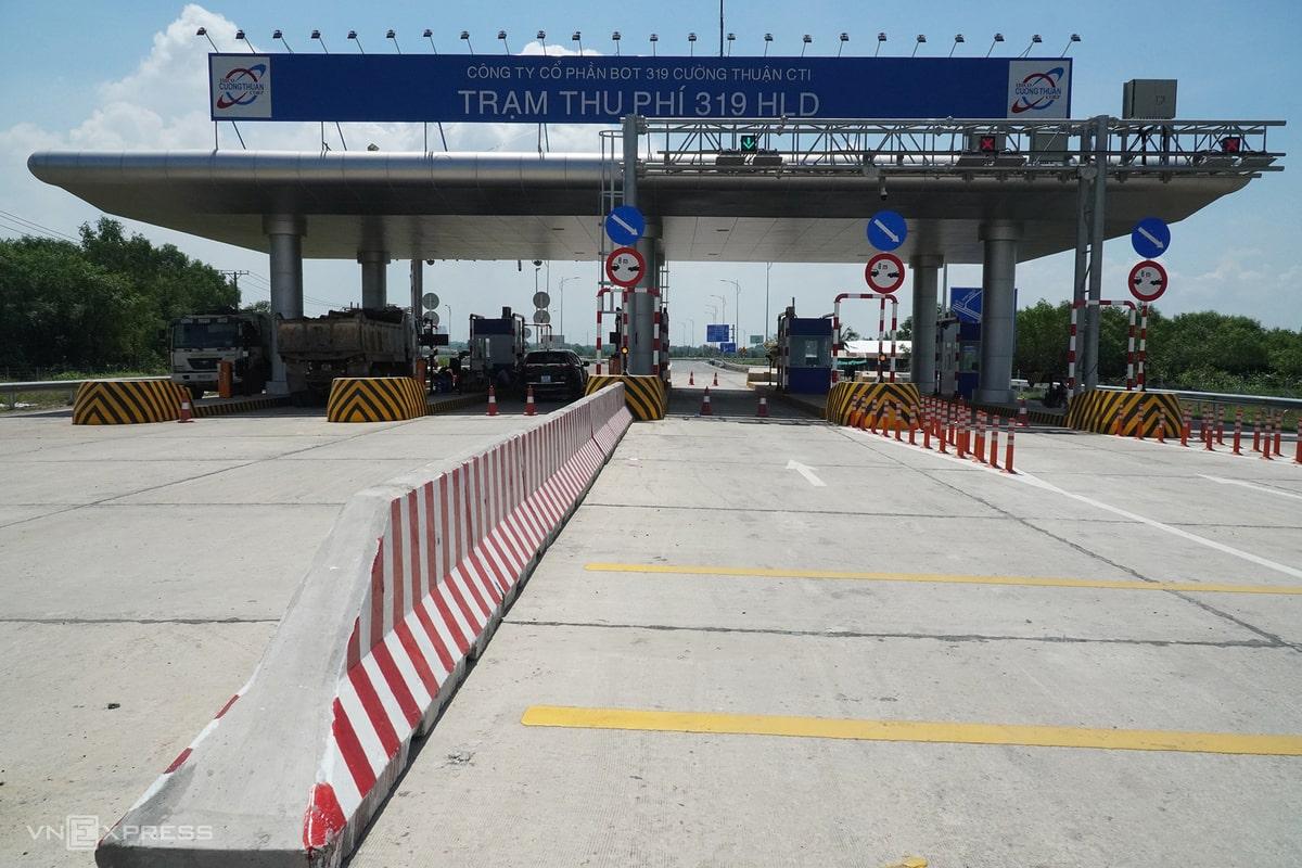 Trạm thu phí đường 319 Nhơn Trạch